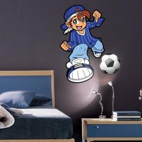 Sticker Footballeur Ptit Vainqueur
