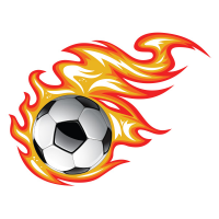 Sticker Ballon et flamme