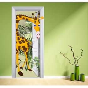 Poster Girafe rigolote