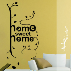 Sticker Arbre  Home Sweet Home