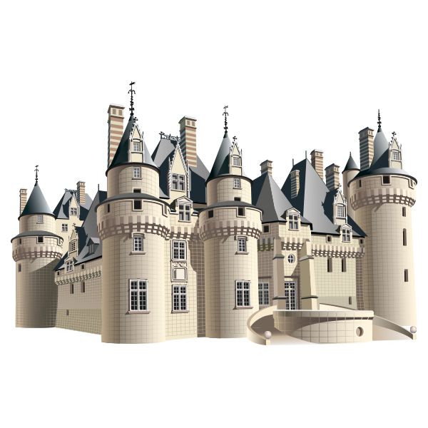 sticker chateau fort stickers center