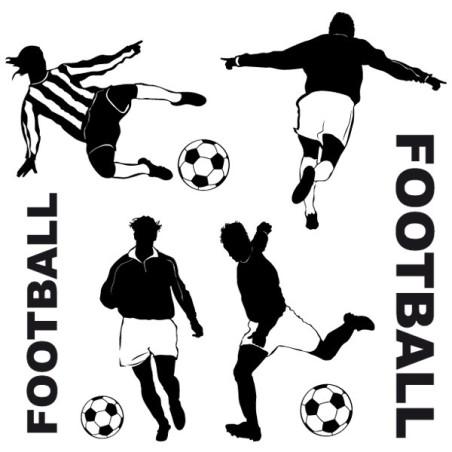 Sticker 4 footballeurs