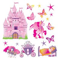 Stickers vasion monuments voyage capitale stickers center - Tickers chambre fille princesse ...