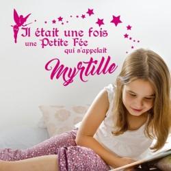 Sticker Personnalisable La Petite Fée