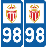 Sticker AS Monaco