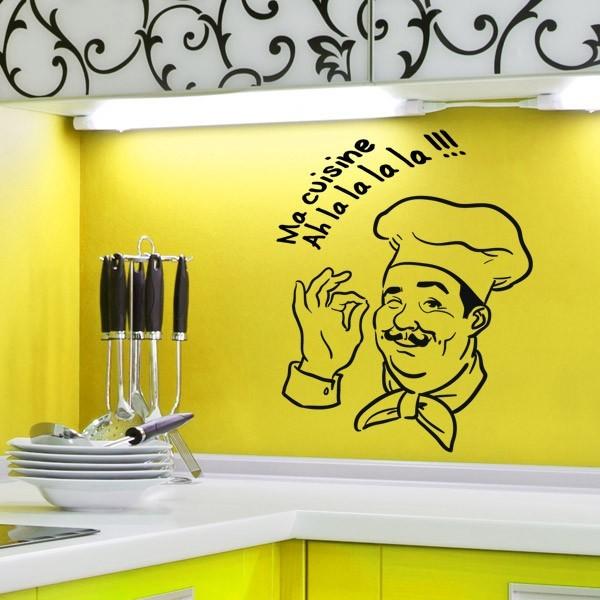 sticker ma cuisine stickers center. Black Bedroom Furniture Sets. Home Design Ideas