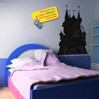 Sticker ardoise Chateau fort