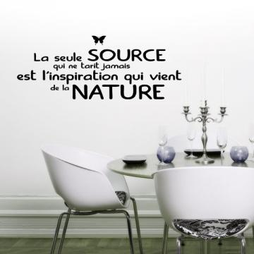Sticker Citation La Nature