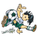 Sticker Footballeur Tag