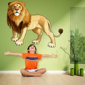 Sticker Roi de la Jungle
