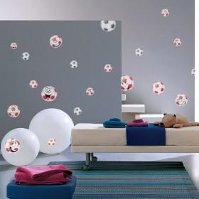 Sticker Panach Ballons Couleur