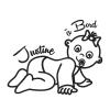 Sticker Bébé Fille