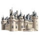 Sticker Chateau Fort