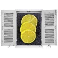 "sticker Trompe l'oeil ""Lemon Dream"""