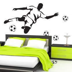 Sticker Footballeur Passion