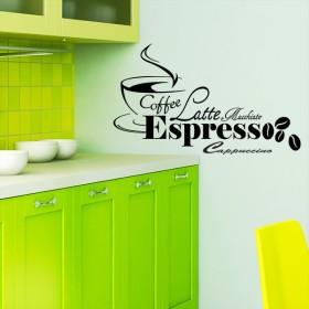 Sticker Coffee Espresso