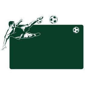Sticker Ardoise Footballeur