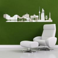 Sticker miroir Berlin