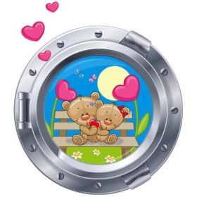 Sticker hublot Chambre de bébé