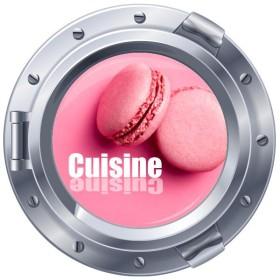 Sticker hublot Cuisine moderne