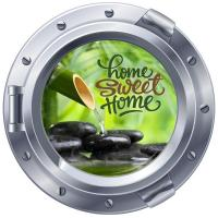 Sticker hublot Home Sweet Home