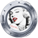 Sticker hublot Marylin