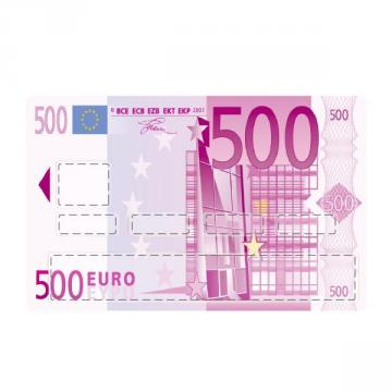 sticker CB Billet de 500 euros