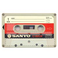 sticker CB Cassette Audio 1