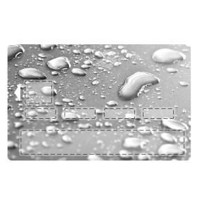sticker CB Goutte d'eau Fond Gris