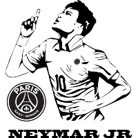 Sticker Neymar Jr
