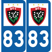 Sticker RC Toulon