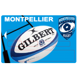 sticker CB Montpellier Rugby