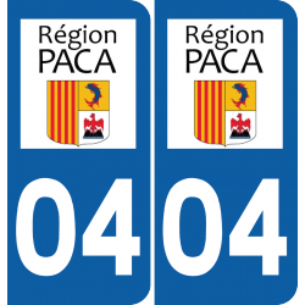 Sticker Département 04