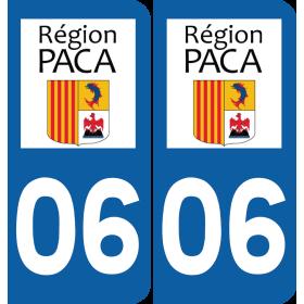 Sticker Département 06