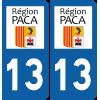 Sticker Département 13