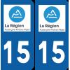 Sticker Département 15