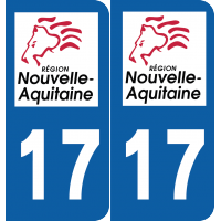 Sticker Département 17