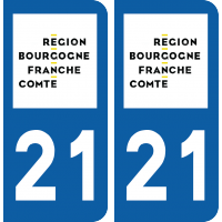 Sticker Département 21