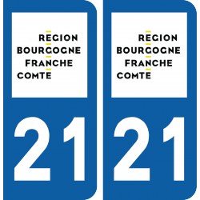 Sticker Département 21
