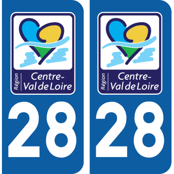 Sticker Département 28