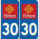 Sticker Département 30