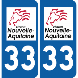 Sticker Département 33