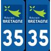 Sticker Département 35
