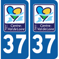 Sticker Département 37