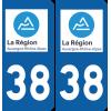 Sticker Département 38