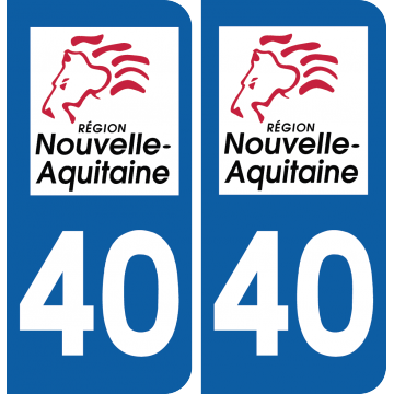 Sticker Département 40