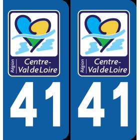 Sticker Département 41