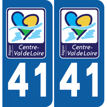 Sticker Département 41