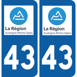 Sticker Département 43