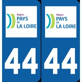 Sticker Département 44